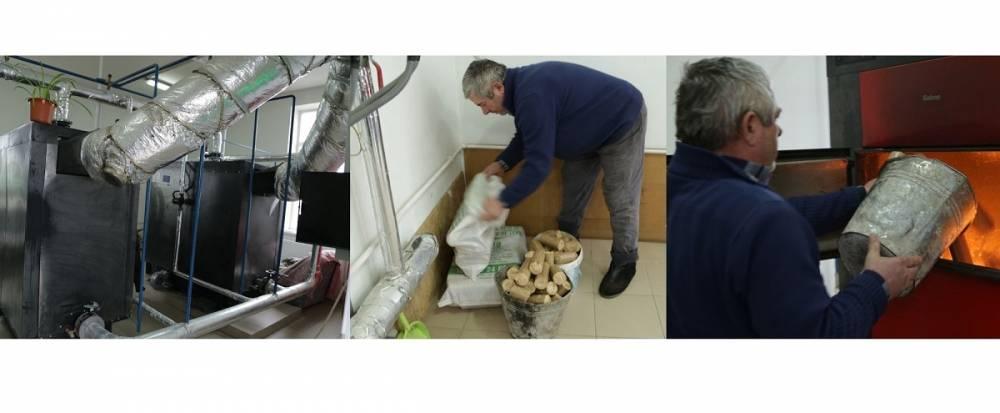 Eficiență energetică la Obileni: fără fum în încăperi și cu economii la bugetul local