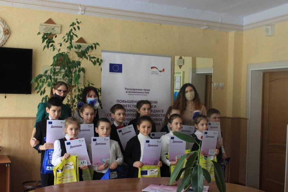 Награждены победители конкурса рисунков из села Авдарма на тему «Энергоэффективность и я»
