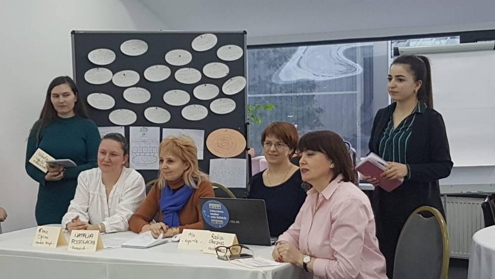 """Tehnici și abordări comune de comunicare și vizibilitate discutate cu partenerii proiectului """"Abilitarea cetățenilor în Republica Moldova"""""""