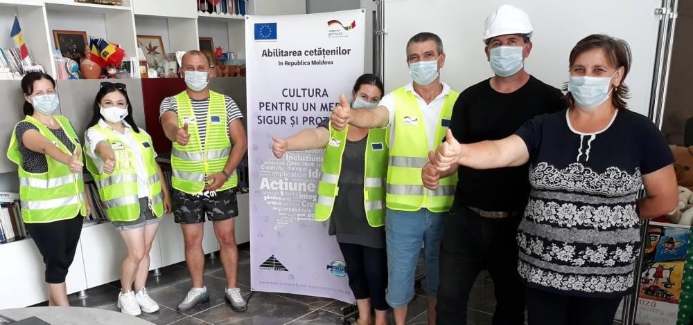 Cu suportul Uniunii Europene și cu implicarea cetățenilor, casa de cultură din Colibași are un grup sanitar modern