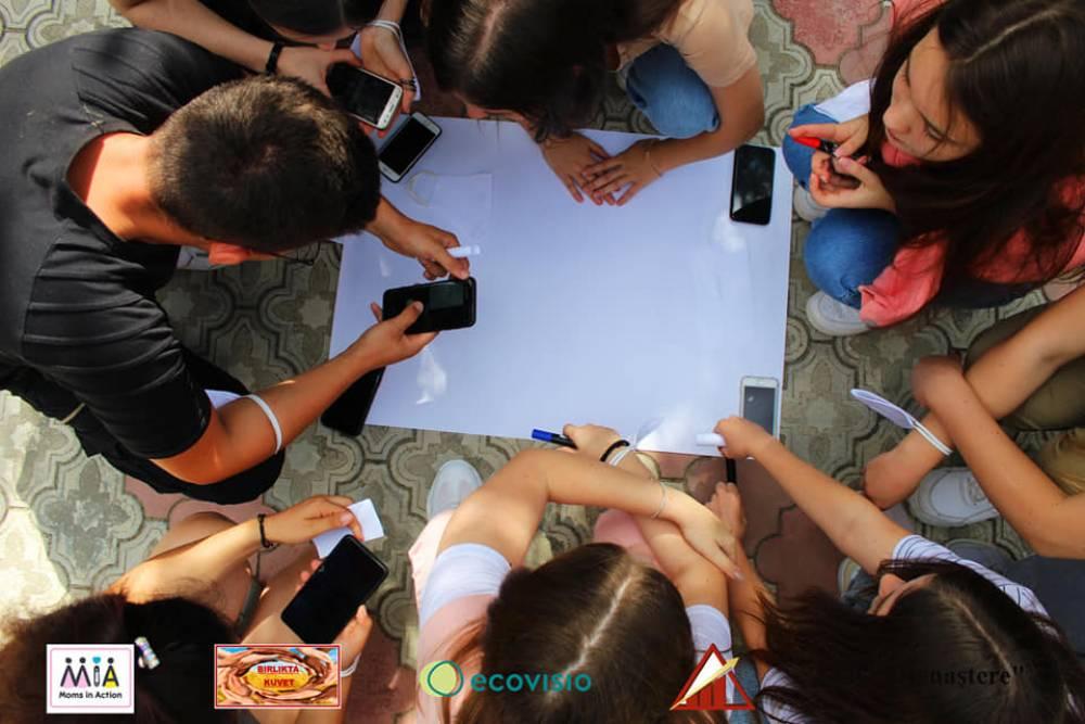 Первый Эко-Лагерь для молодежи стартовал в Гагаузии!